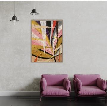 Obraz abstrakcyjny, 30x40, A3