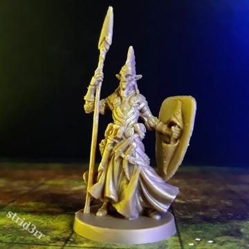 Wojownik z włócznią - Figurka Dungeons & Dragons
