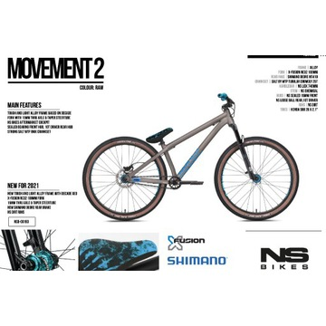 NS BIKES Movement 2 2021. Nowy!