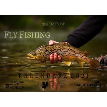 "Kalendarz 2021 ""365 DAYS OF FLY FISHING"" wędkarski"