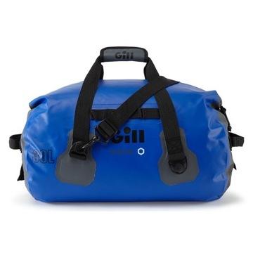 Niebieska nieprzemakalna torba żeglarska 30L
