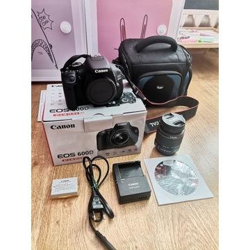 Canon EOS 600D Licznik 4624!! zestaw