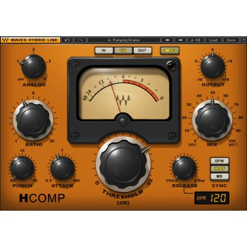 Waves H-Comp plugin VST AAX | MAC PC