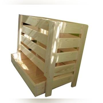 skrzynia pojemnik corek na ziemniaki drewniany