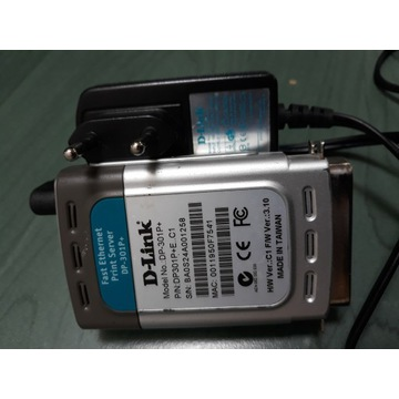 PrintSerwer DP-301P+ D-Link