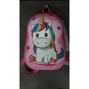Plecak podróżny dla dziewczynki JEDNOROŻEC