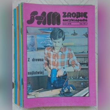 Sam zrobię encyklopedia 1986-1989. Cena za 2 szt