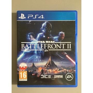 "Gra na PS4 Star Wars "" Battlefront II"""