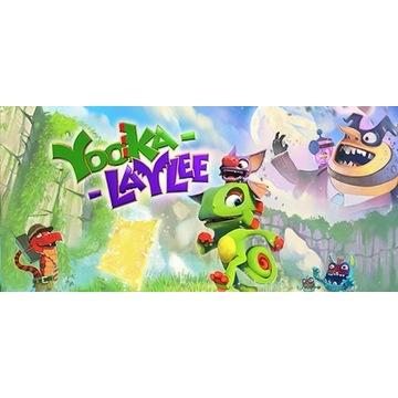 Yooka-Laylee - klucz Steam