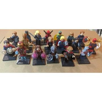 Figurki postaci z Universum Marvela