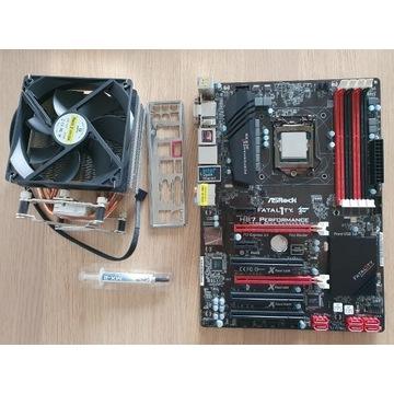Intel Core i7-4771 + ASRock H87 Fatal1ty + chłodz.