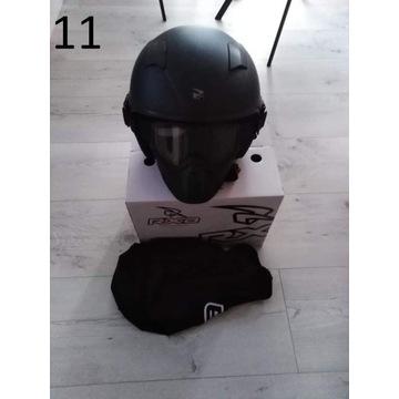 Kask motocyklowa RXA Jaws Czarny Mat