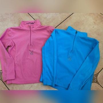 Polar golf bluza Spyder 6 i 7 lat - 2 sztuki
