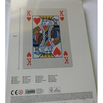 flying tiger ogromne karty do gry 28cm talia 54 xx