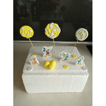 Cukrowy zestaw - Myszka Miki i przyjaciele