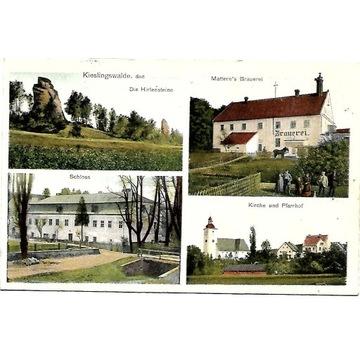Idzików (Kieslingswalde), 1916 rok Browar!