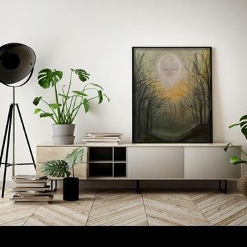 Obraz olejny 'melancholia', 40x50cm
