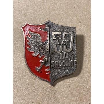 Sadowne 50 lat LO liceum odznaka