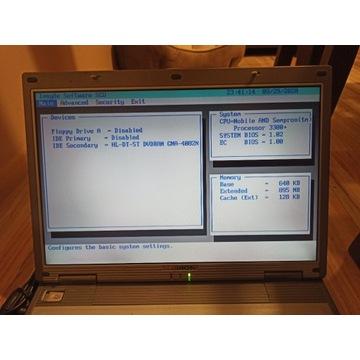 Laptop Medion AMD Sempron 3300+