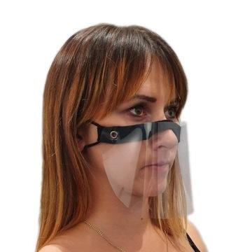 Mini przyłbica ochronna na nos i usta