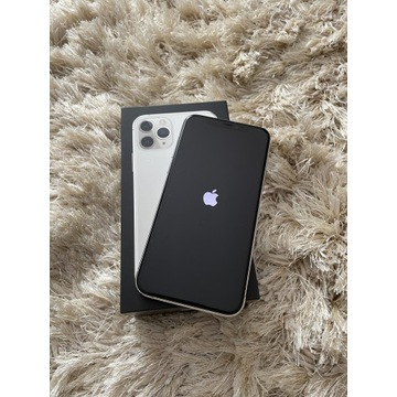 Apple iPhone 11 pro silver świetny stan