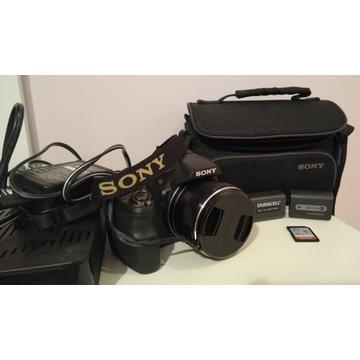 Sony DSC Hx200V. Zestaw dwie baterie i torba Sony.