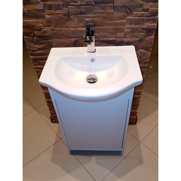 Szafka z umywalką łazienkowa 50 cm, komplet