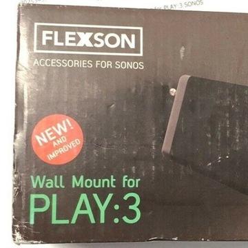 Sonos Uchwyt - Flexson Wall Mount for Play:3