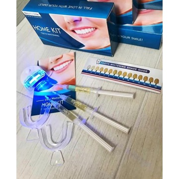 WYPRZEDAŻ! Zestaw do Wybielania Zębów z Lampą LED