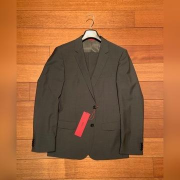 HUGO BOSS - oryginalny garnitur 50 slim - OKAZJA!
