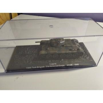 Model czołgu T34