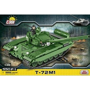 Klocki cobi radziecki czołg podstawowy T72 M1