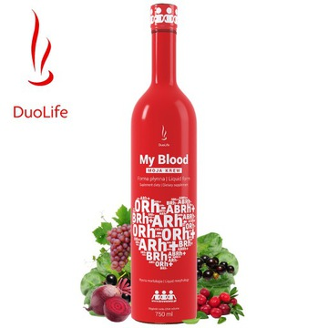 DuoLife My Blood Moja Krew - Morfologia w płynie