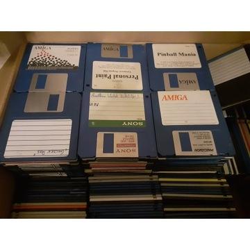 Amiga dyskietki cały karton 374 szt.