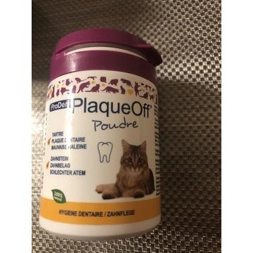 Plaque off, preparat proszek higiena zębów u kota