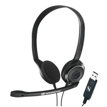 Słuchawki SENNHEISER PC 8 USB mikrofon GWAR NOWE