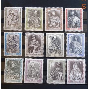 POCZET KROLOW seria 44 znaczkow 200 zl