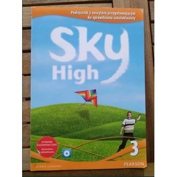 Książka do Angielskiego Sky High 3 + płyta CD