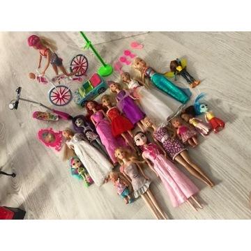 Giga-zestaw lalki lalka Barbie + Monster High 17sz