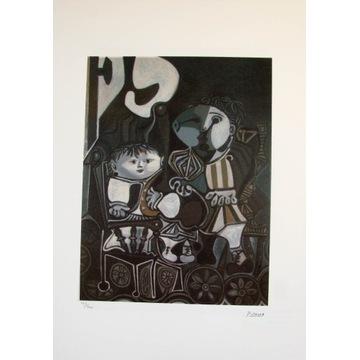 Pablo Picasso litografia barwna 50x70cm