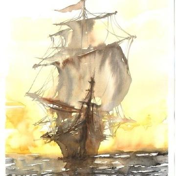 fregata statek A/B