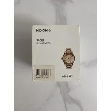 Zegarek Nowy Nixon Facet rosegold
