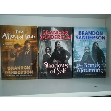 The Alloy of Law (Mistborn) - Brandon Sanderson