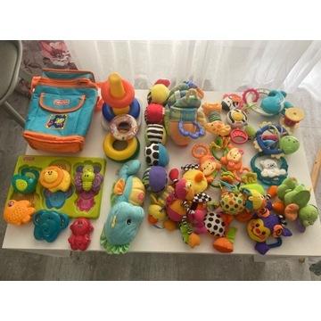 Fisher price  zestaw zabawek i termos