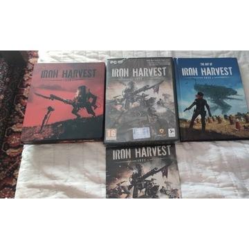 Iron harvest+steelbook+artbook+cd-NOWE
