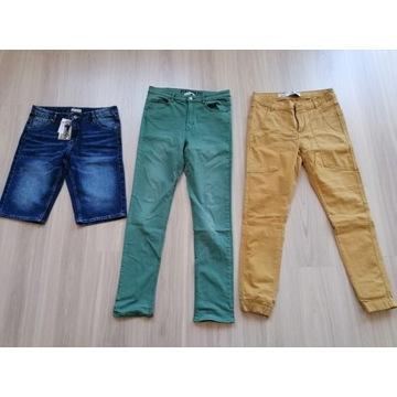zestaw spodnie CROP H&M idealne rozmiar 28