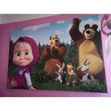 Obraz Masha i Niedźwiedź
