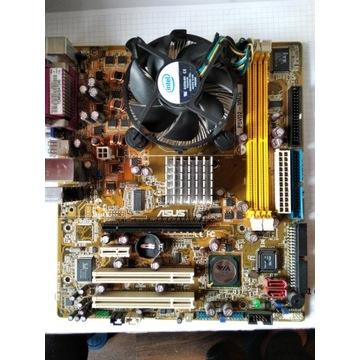 ASUS P5VD2-VM/S + C2D E6550 + CHŁODZENIE BOX