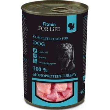 FITMIN dog karma mokra dla psa z idykiem 400 g