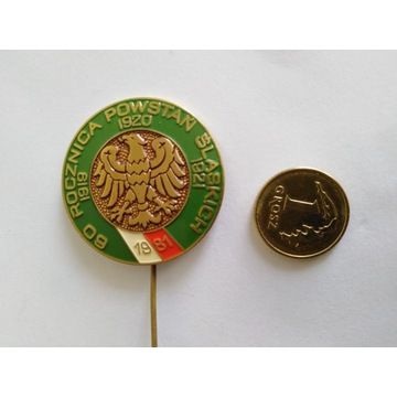 Odznaka 60 Rocznica Powstań Śląskich